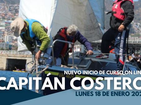 CURSO CAPITÁN COSTERO - NUEVO INICIO