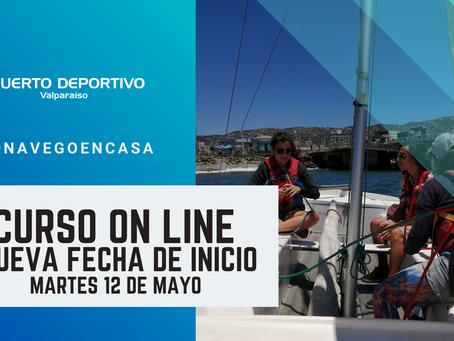 NUEVA FECHA DE CURSOS ON LINE