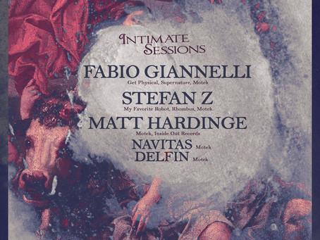 Motek Intimate Sessions November 23rd with FABIO GIANNELLI, STEFAN Z, MATT HARDINGE + residents