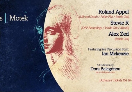 Motek and Inside Out records join forces in London on April 24!