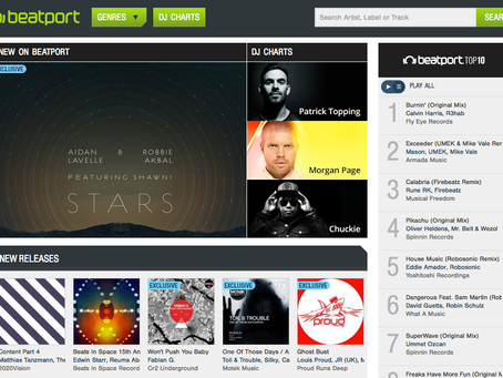 MTK 004 Featured on Beatport home page