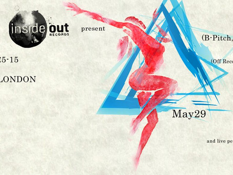 Motek and Inside Out records join forces in London again on May 29!