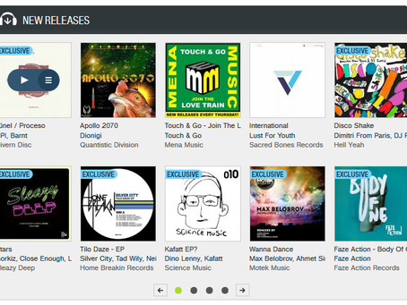 Featured Release: Our first release gets it's first Beatport feature!