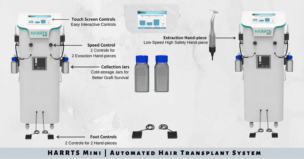 HARRTS Mini Automated Hair Transplant Sy