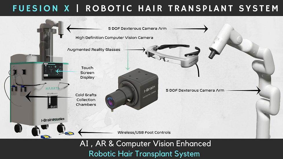 FUEsion X   Robotic Hair Transplant System