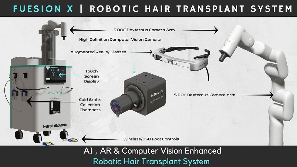 FUEsion X _ Robotic Hair Transplant System