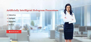 I-Presenter Virtual Holographic Presente