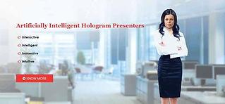 I-Presenter Virtual Holographic Presente