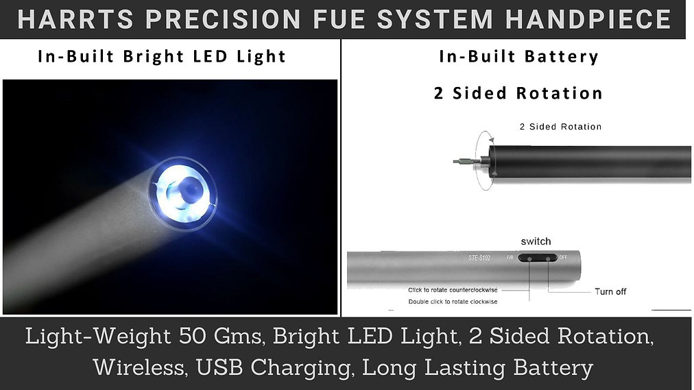 HARRTS Precision FUE System Handpiece