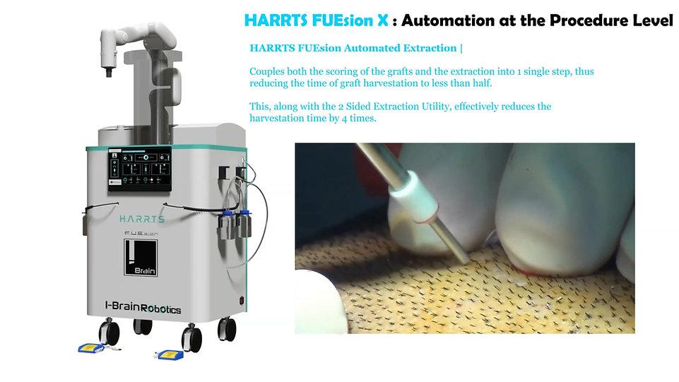HARRTS FUEsion -X | Robotic Hair Transplant System