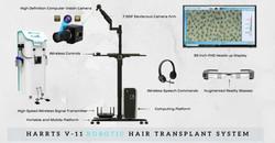 HARRTS Mini V-11 Robotic Hair Transplant System