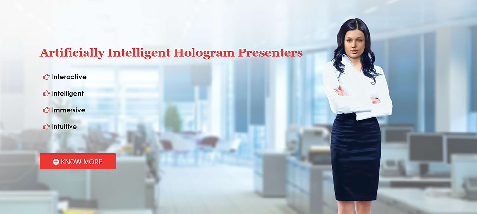 i-Presenter | Virtual Holographic Intelligent Presenter