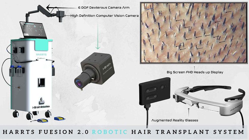 HARRTS FUEsion 2.0Robotic Hair Transplant System