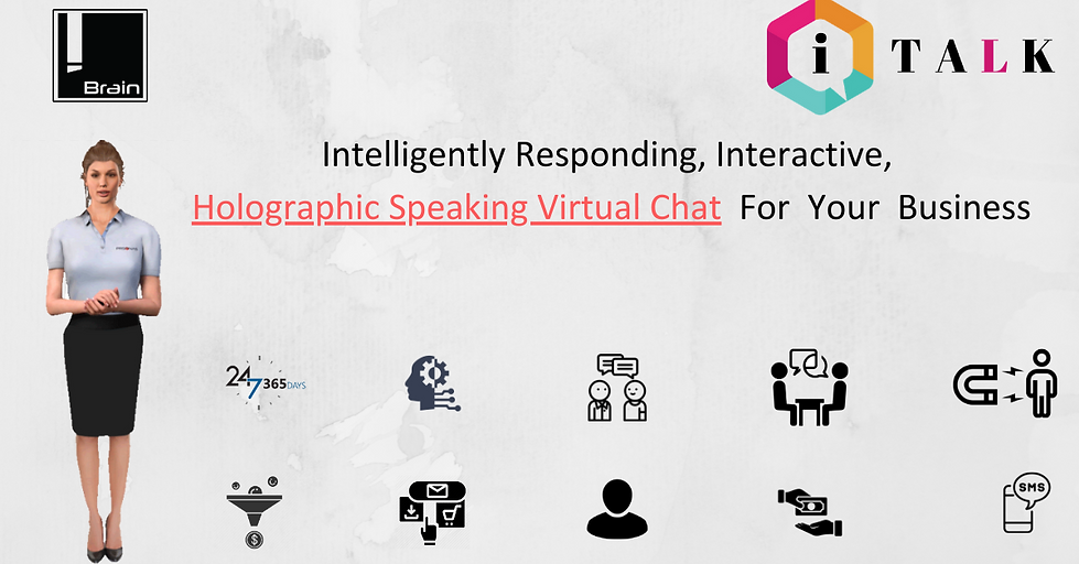 I-Talk | An intelligently responding Voice Enabled Holographic Virtual Chat-bot I-Talk | An intelligently responding Voice Enabled Holographic Virtual Chat-bot