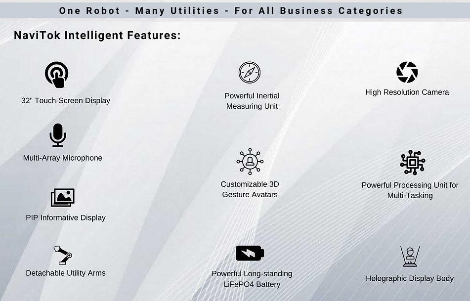 NaviTok Humanoid Robot