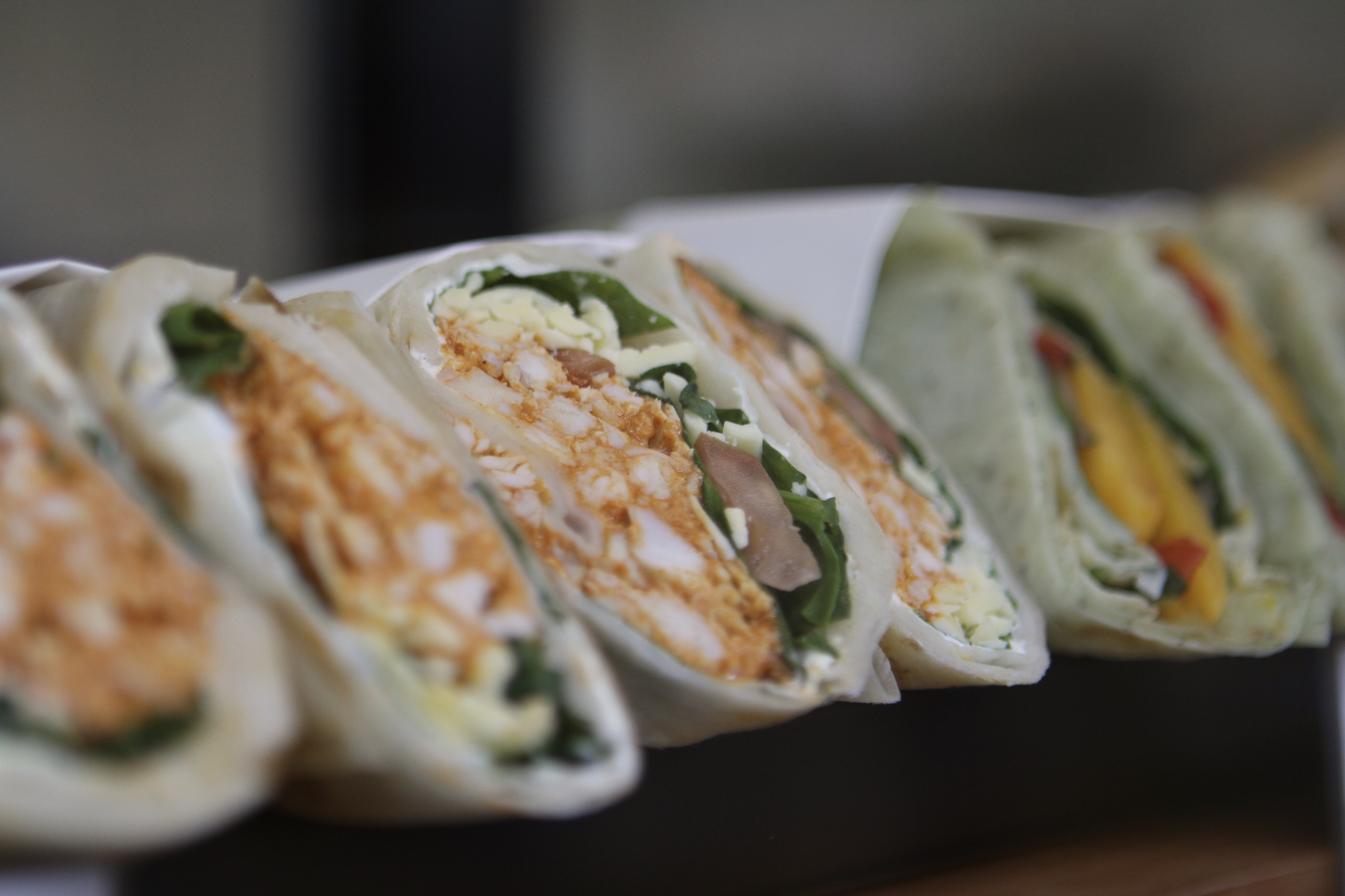 Tandoori Chicken Roti Wrap