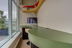 Custom Laminate Home Office