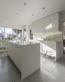 High Gloss Laminate Kitchen