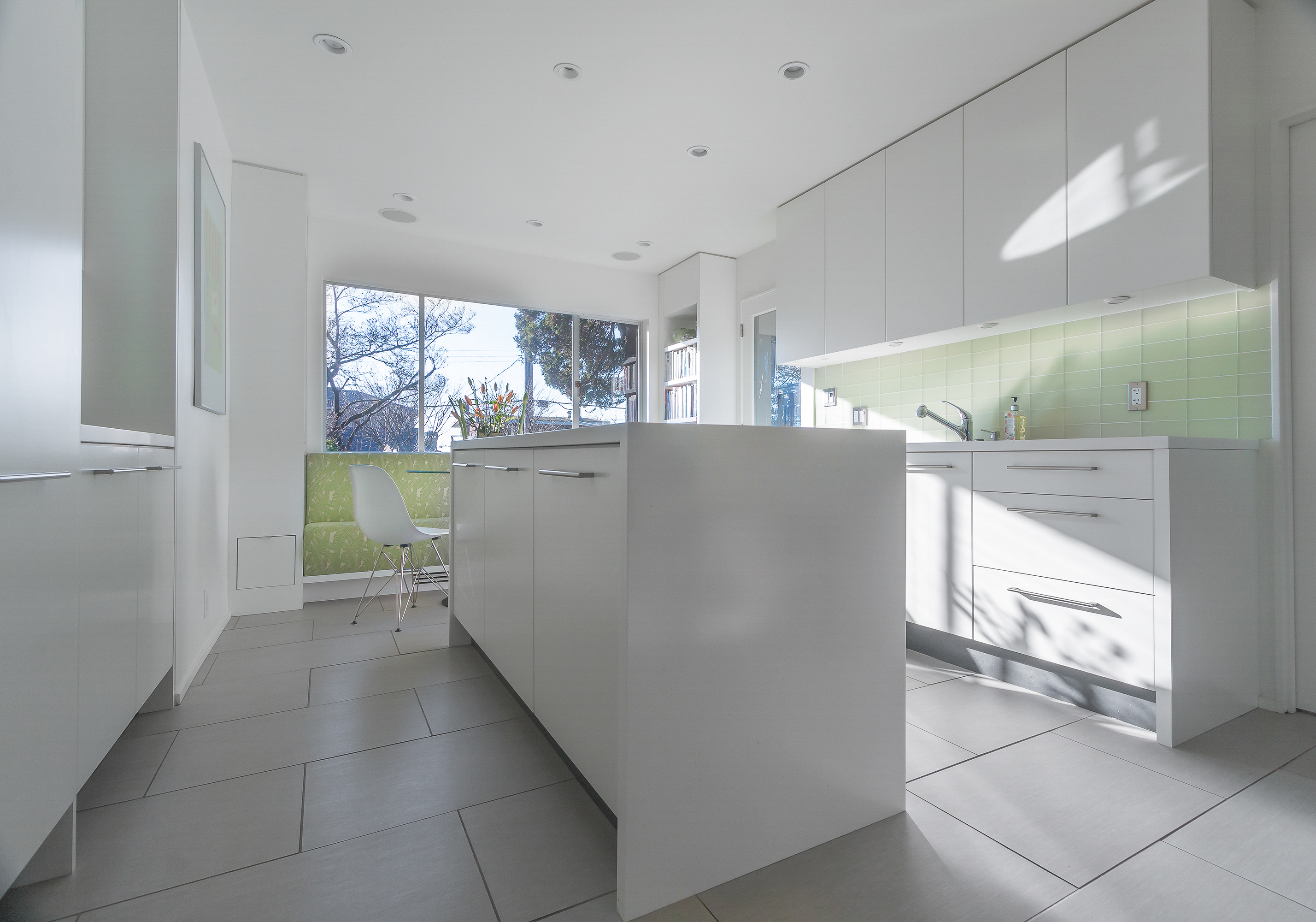 High Gloss Laminate Kitchen