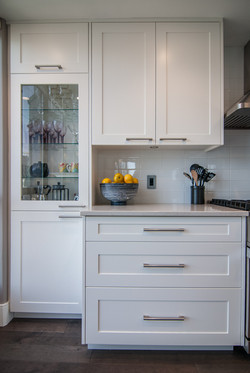 Custom White Shaker Style Kitchen