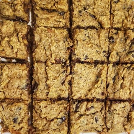 Vegan Chocolate Chip Cookie Bars