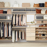 Bedroom Storage Closet System