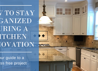 How to Stay Organized During a Kitchen Renovation