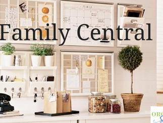 Organizing Your Family Command Center