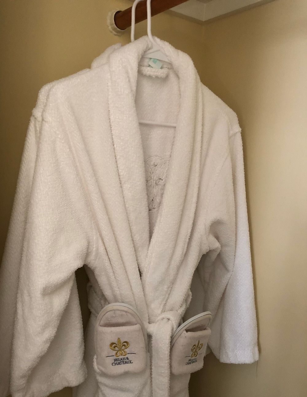 His & Hers White Robes