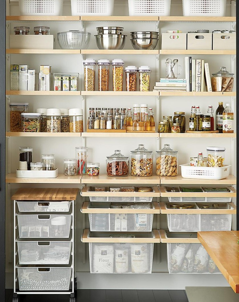 Pantry Storage Shelving System