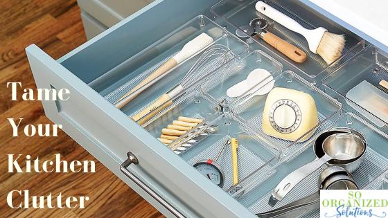 Organized Kitchen Utensil Drawer