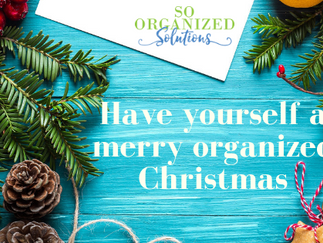 Have Yourself a Merry Organized Christmas