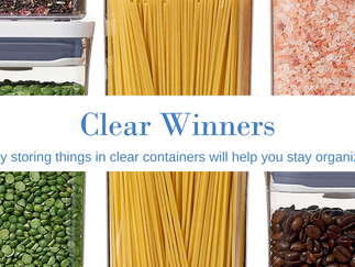 The Best Reasons to Use Clear Storage Containers