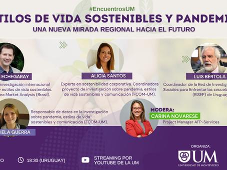Encuentro UM   Estilos de vida sostenibles en pandemia: una nueva mirada regional hacia el futuro