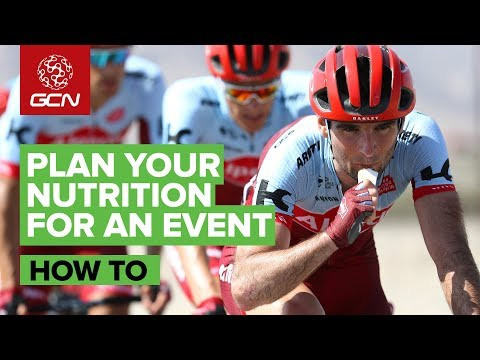 How to plan your race or sportive nutrition with Asker Jeukendrup | Interview by GCN Emma Pooley