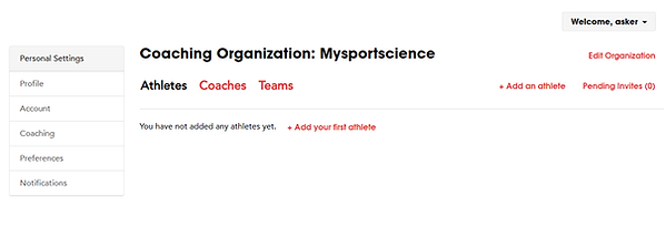 Organization Invite first athlete.png
