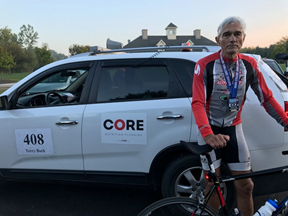Terry Bork sets PR in 400mi RAAM Qualifier Race