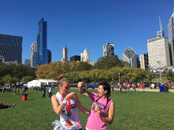 Jill Cordes PRs Chicago Marathon with CORE