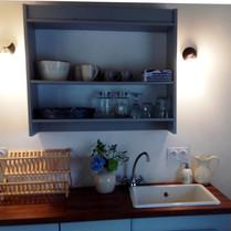 Keuken van de Cottage Charente