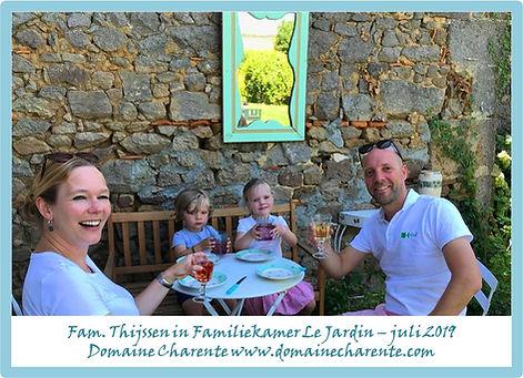 2019 - Gastenboek Jardin - Fam. Thijssen