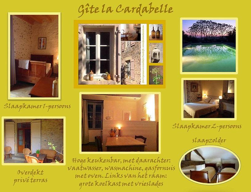 2019 - Gite Cardabelle - NIEUW EXTRA FOT