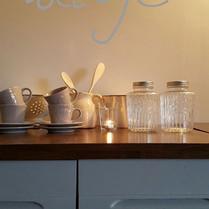 Sfeerfoto open keuken - compleet ingericht - van de Cottage Charente
