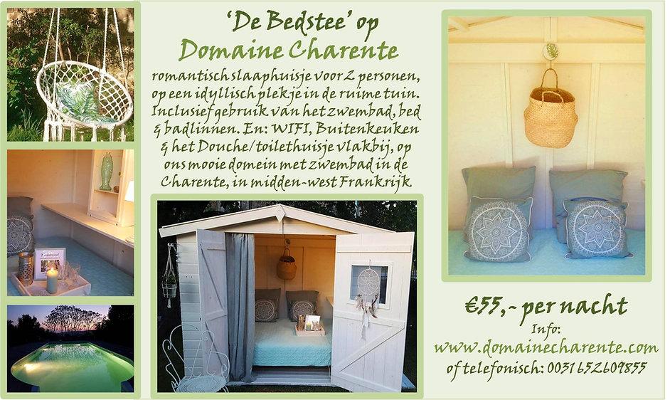 Natuurhuisje in Frankrijk, op Domaine Charente, vakantiehuizen, cottage, B&B/Familiekamers in Frankrijk. Welkom voor een heerlijke vakantie, in de natuur. Domaine Charente is omringd door prachtige meren (Lacs de Haute Charente) en de steden Cognach, Limoges en Angouleme. Authentiek Frankrijk beleef je op ons prachtige domein vol bloemen en fruitbomen, het zwembad en een vuurplaats. Volop ruimte om te spelen, te relaxen. Honden welkom!