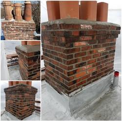 Rebuilt Chimney,New Cap,New Liners