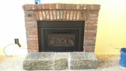 fireplace mason work