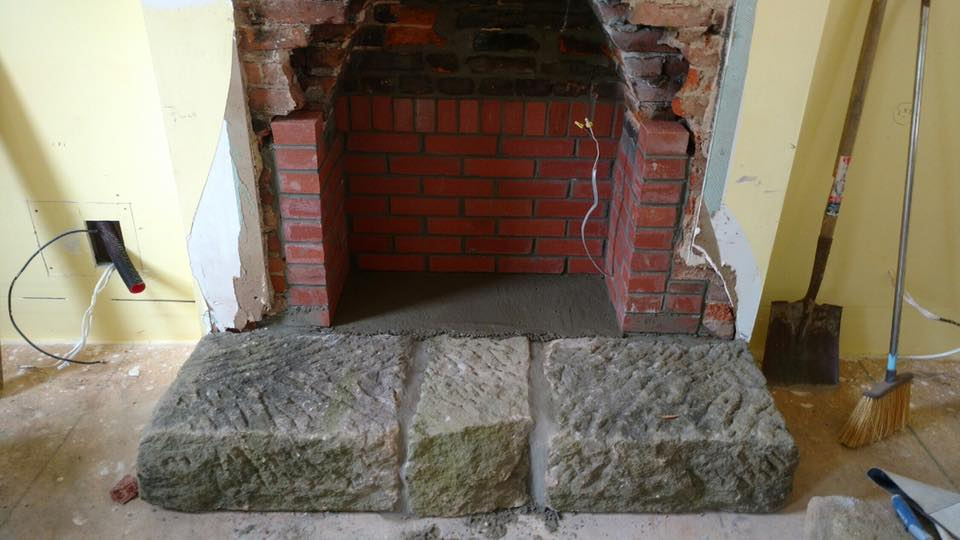 fireplace repair mason