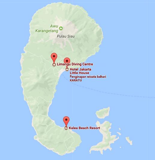 accomodation siau limangu diving centre north sulawesi