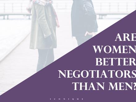 Are Women Better Negotiators Than Men?