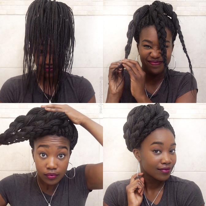 6 Box Braid Hairstyles