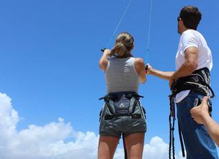 Porque é que ainda há poucas mulheres no kitesurf?